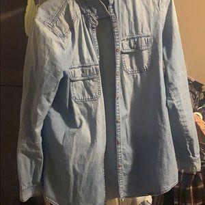 Women's jean jacket L